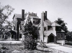 Brooks Manor 1881 (image from the Brooks Estate)