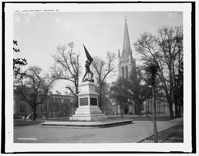 Jasper Monument (1890-1900), Retrieved from the Library of Congress http://www.loc.gov/pictures/item/2016797859/