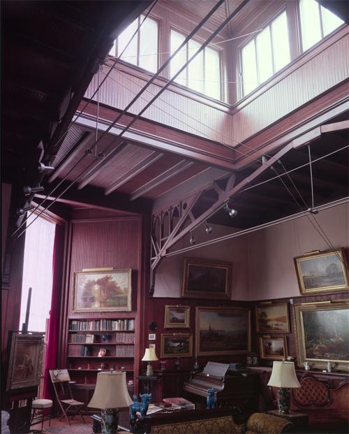 Jasper Cropsey's studio at Ever Rest