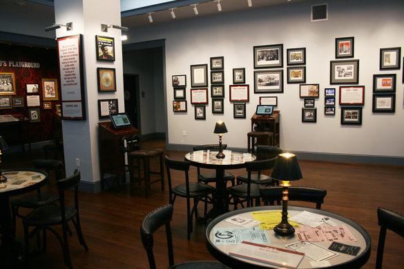 Interior of the Tenderloin Museum