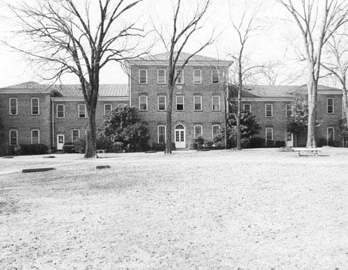 Smeltzer Hall, rear view