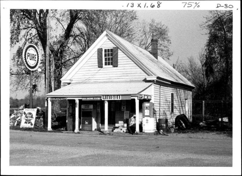 The Bucktown Village Store in 1975.