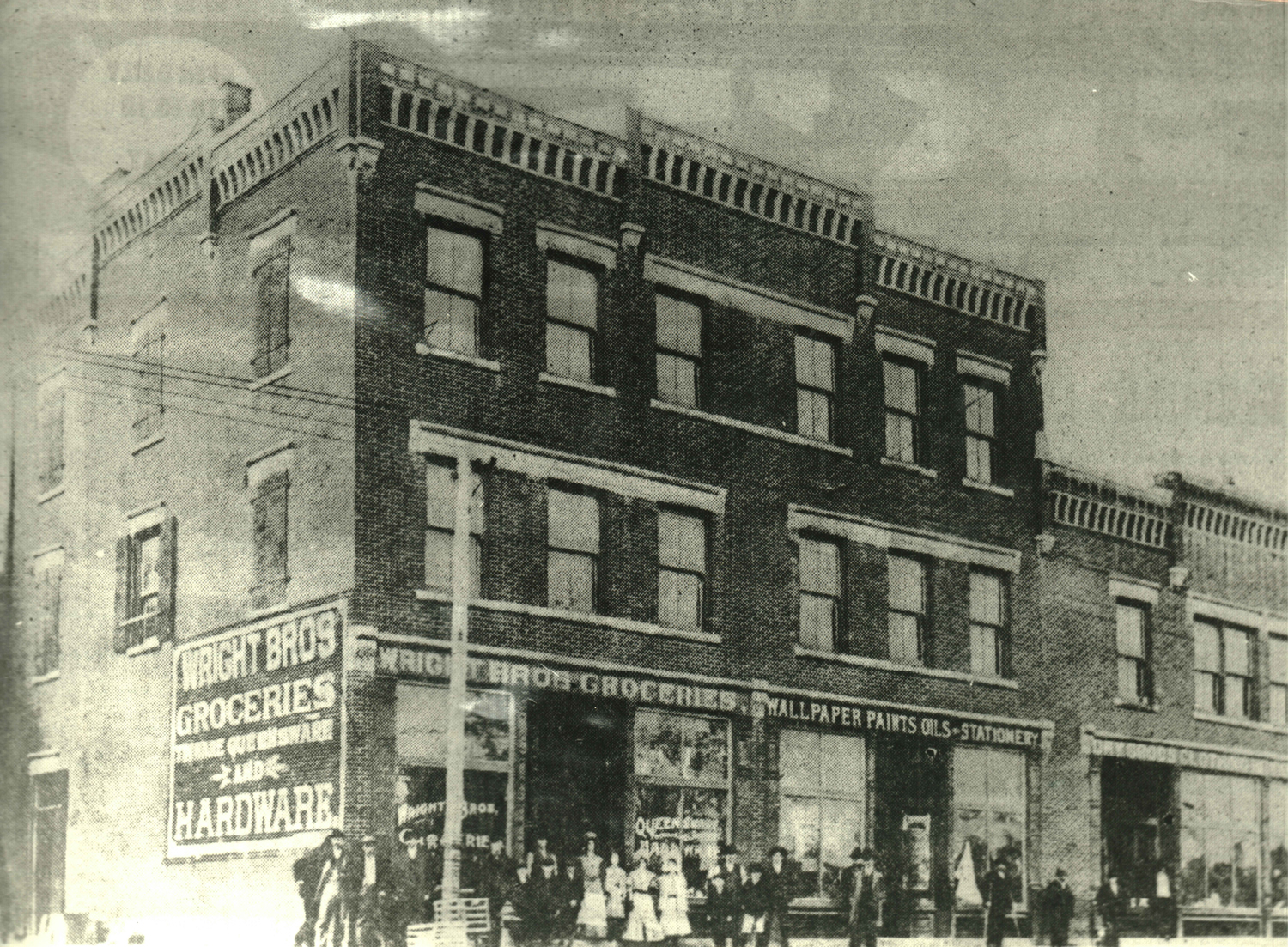 The Wright Brothers Store was considered one of the largest and most popular stores in the region during the first few decades of the twentieth century.