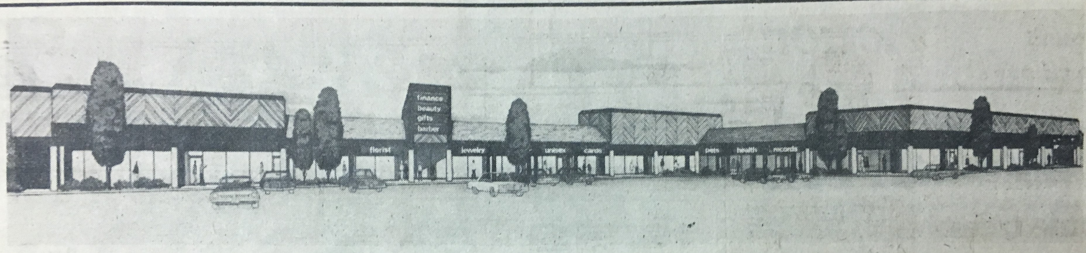 Concept art for the Ceredo Plaza. Image courtesy of the Ceredo Historical Society Museum.