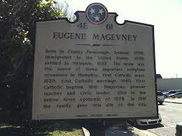 Historical Marker- Eugene Magevney