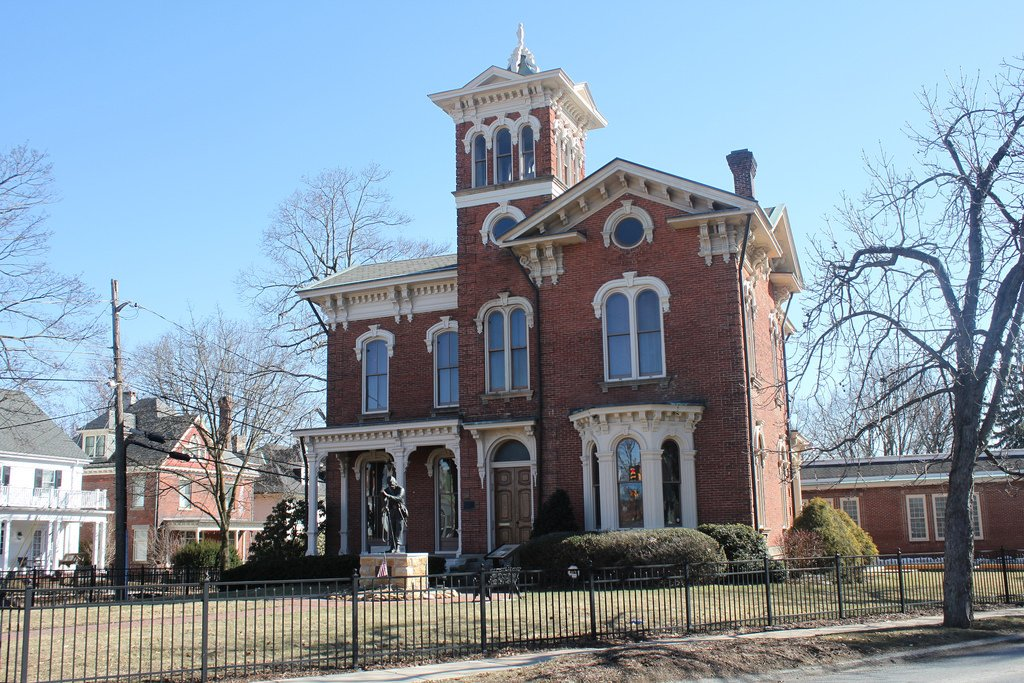 The Silas M. Clark House also serves as a period museum for the Historical and Genealogical Society of Indiana County.