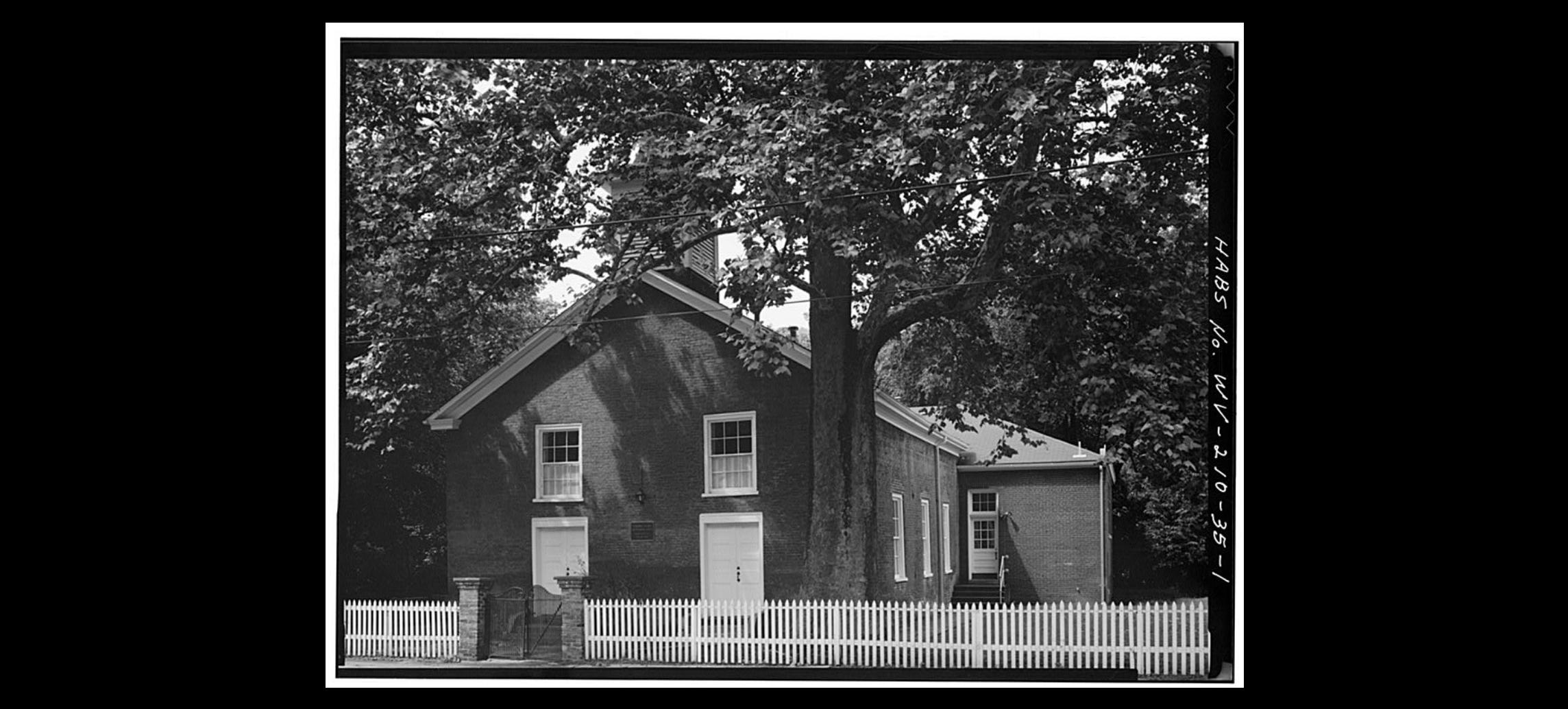 Kanawha Salines Presbyterian Church, 1980