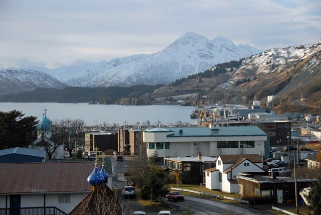 The Alutiiq Center, located in the historic heart of downtown Kodiak, Alaska.