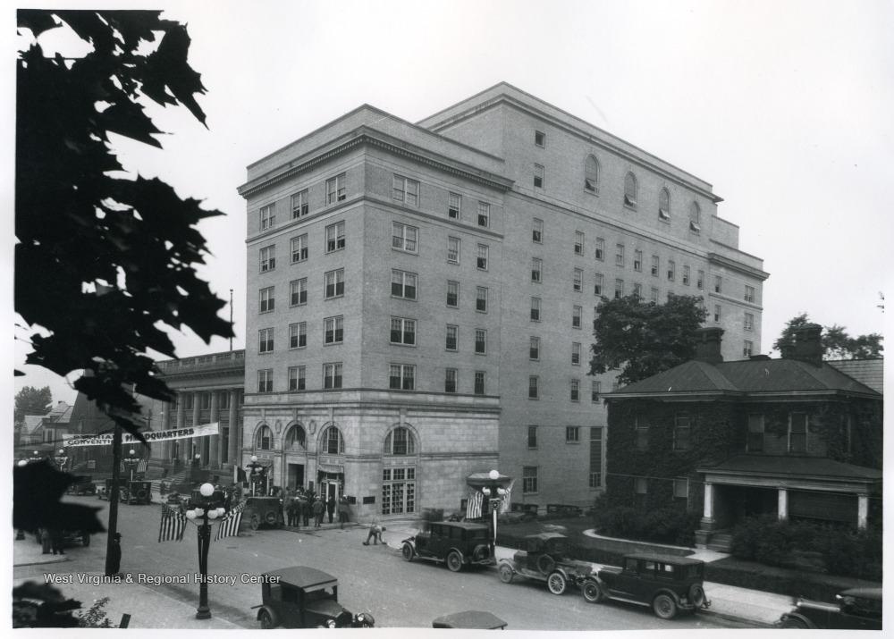 Hotel Morgan, 1928
