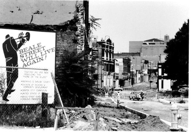 Beale Street circa 1960s-1970s