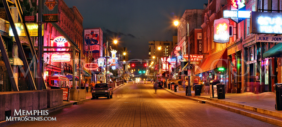Street view of Beale