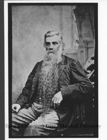 Peter Cline Buffington, first mayor of Huntington and namesake of Buffington School