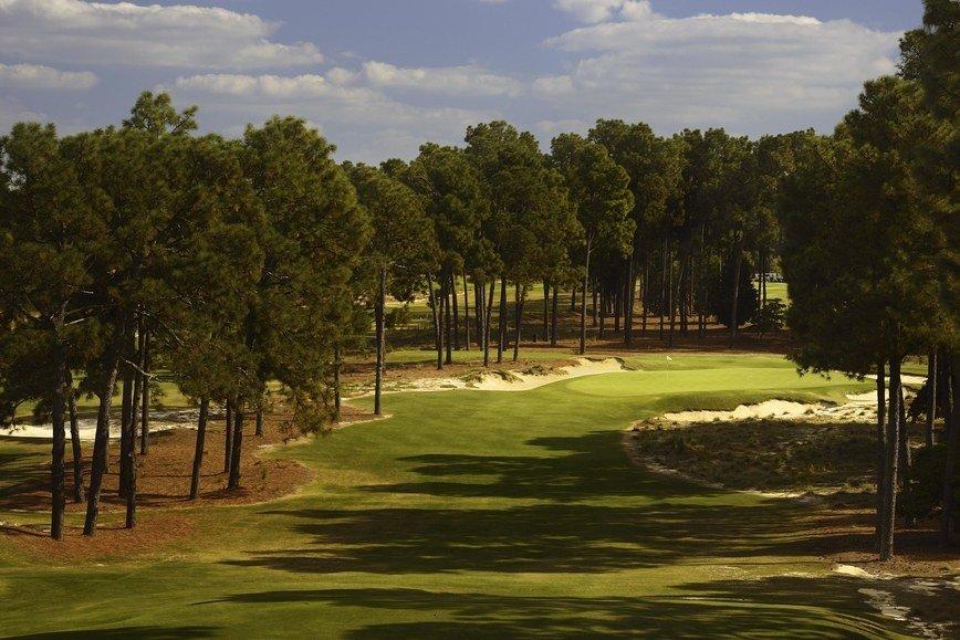 The 17th hole at Pinehurst #2. Photo: Golf Digest