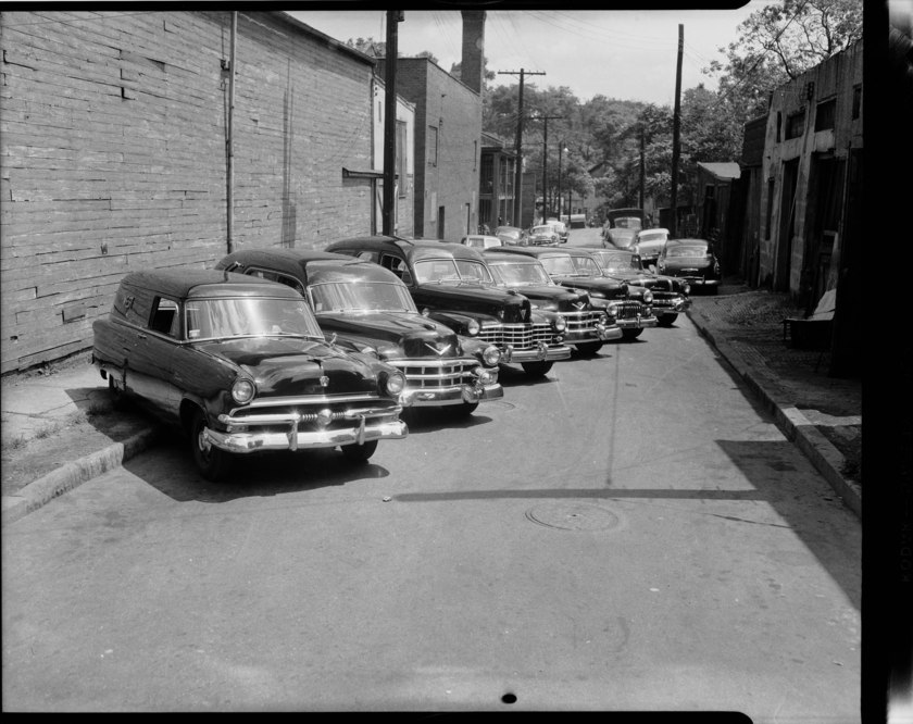 West Funeral Home's Hearses (1950-1955)