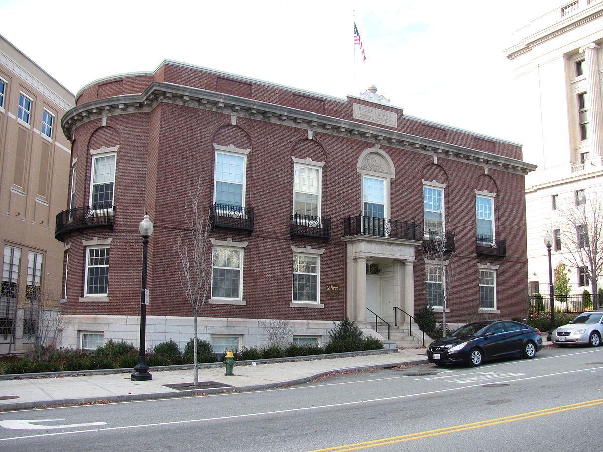 Rhode Island Medical Society Building. Photo taken in 2011.