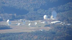 Antennas located at the NSA listening station