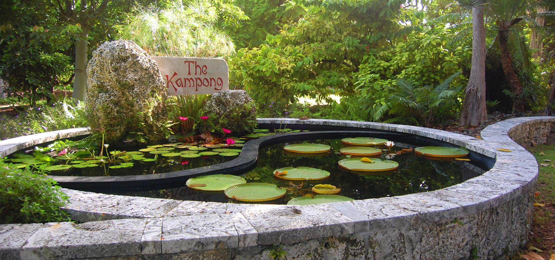 The Kampong. Credit: The National Tropical Botanical Garden