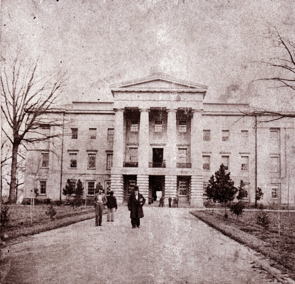 Raleigh North Carolina Capital 1861