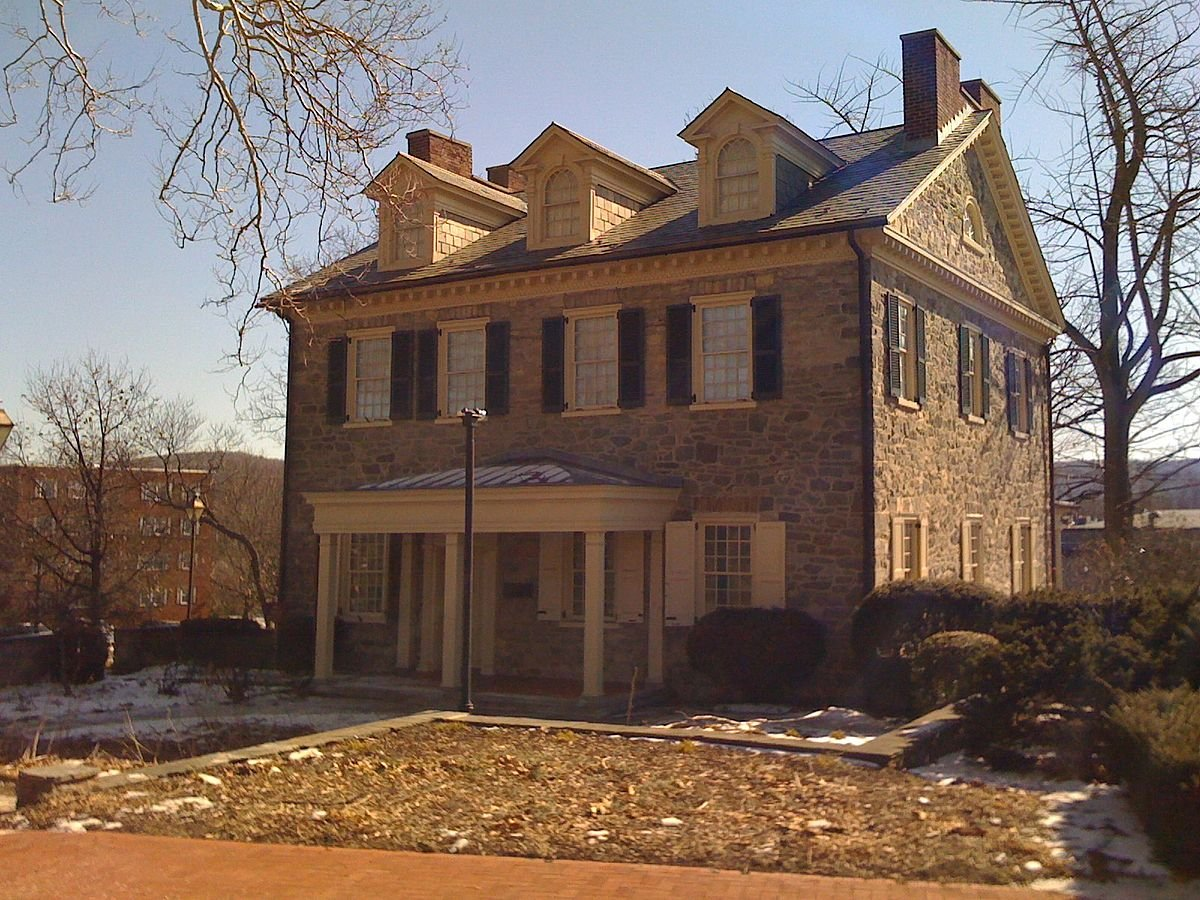 Trout Hall is considered the oldest surviving home in Allentown.