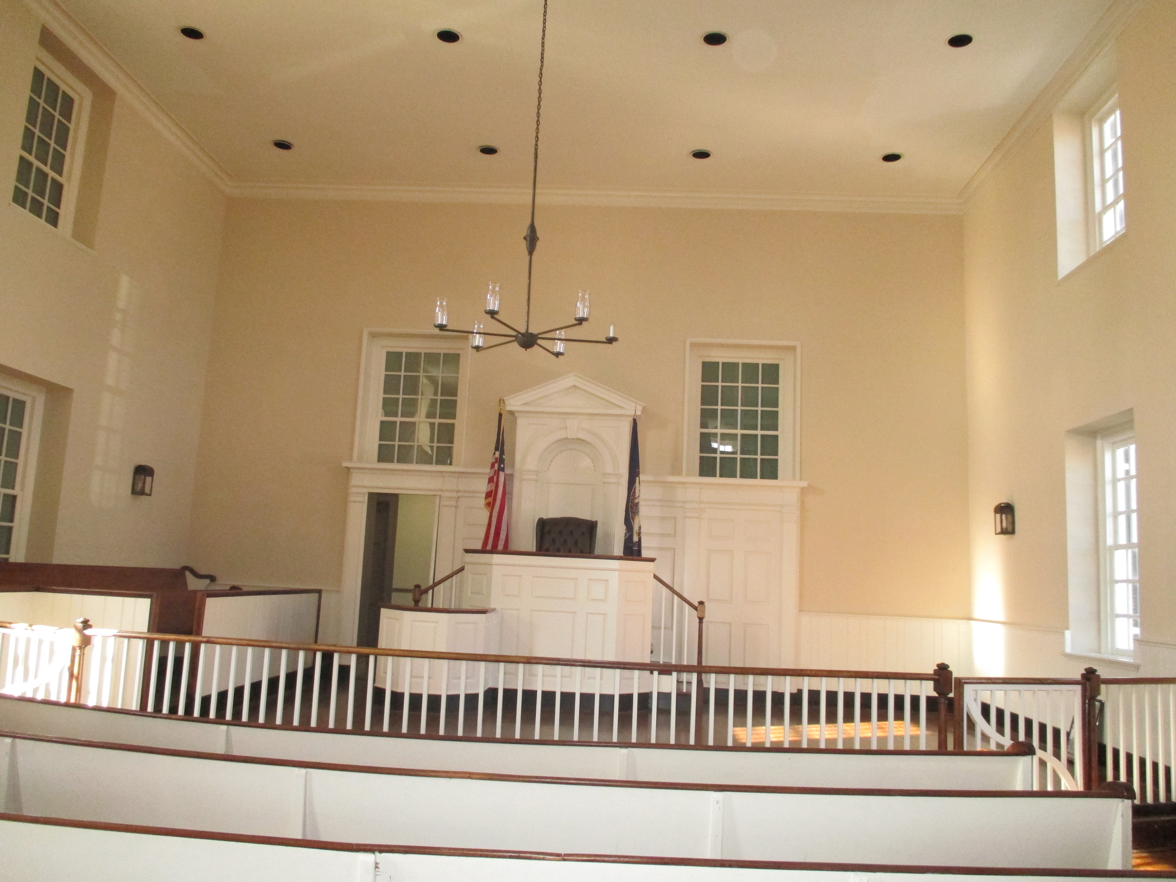 Inside the Historic Courthouse