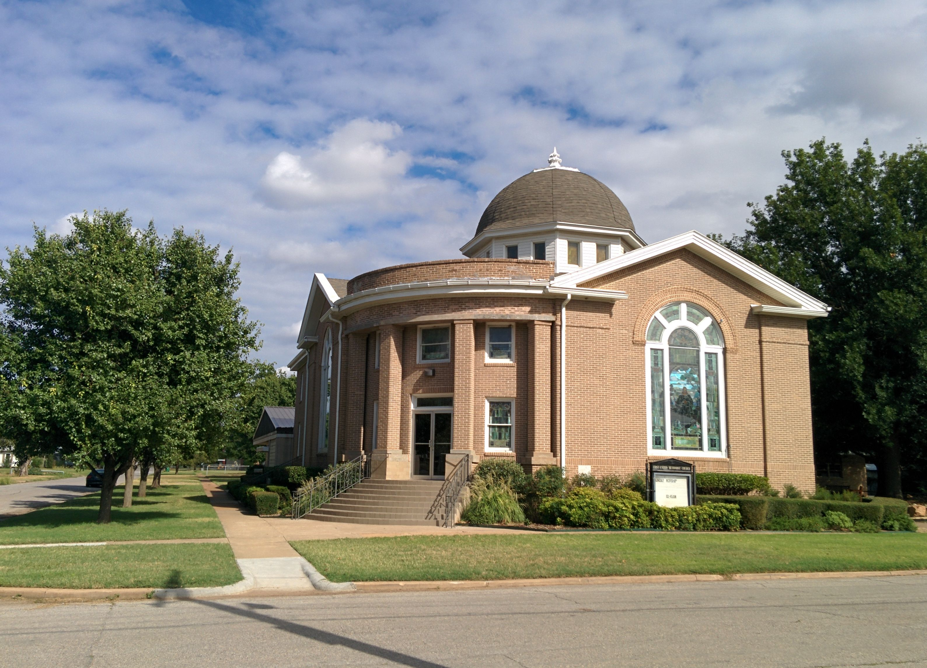 First United Methodist Church By Crimsonedge34 - Own work, CC BY-SA 3.0, https://commons.wikimedia.org/w/index.php?curid=35221643