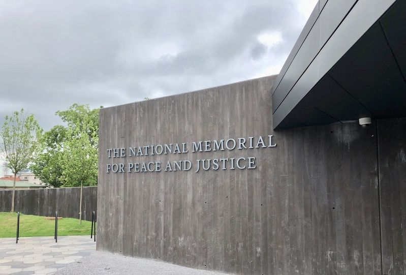 The National Memorial for Peace and Justice entrance.