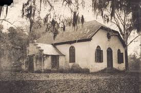 The Strawberry Chapel pictures in the 1800s.