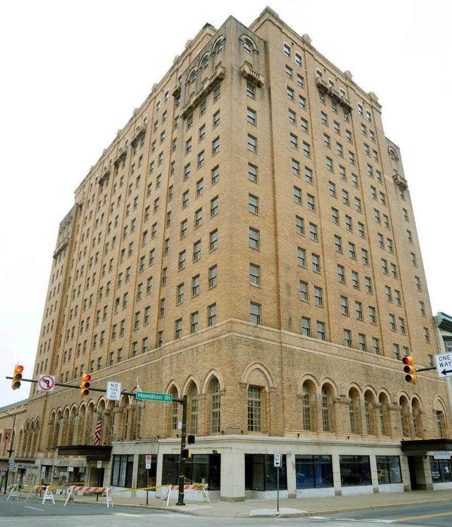 The Americus Hotel during recent renovations.