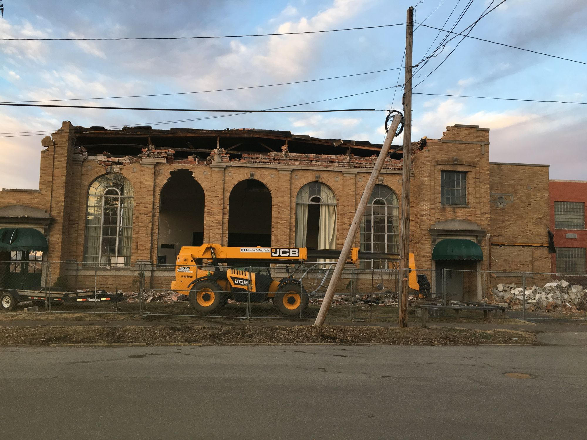 Kenova Elementary School was demolished in January 2018 to make way for commercial development on the property.