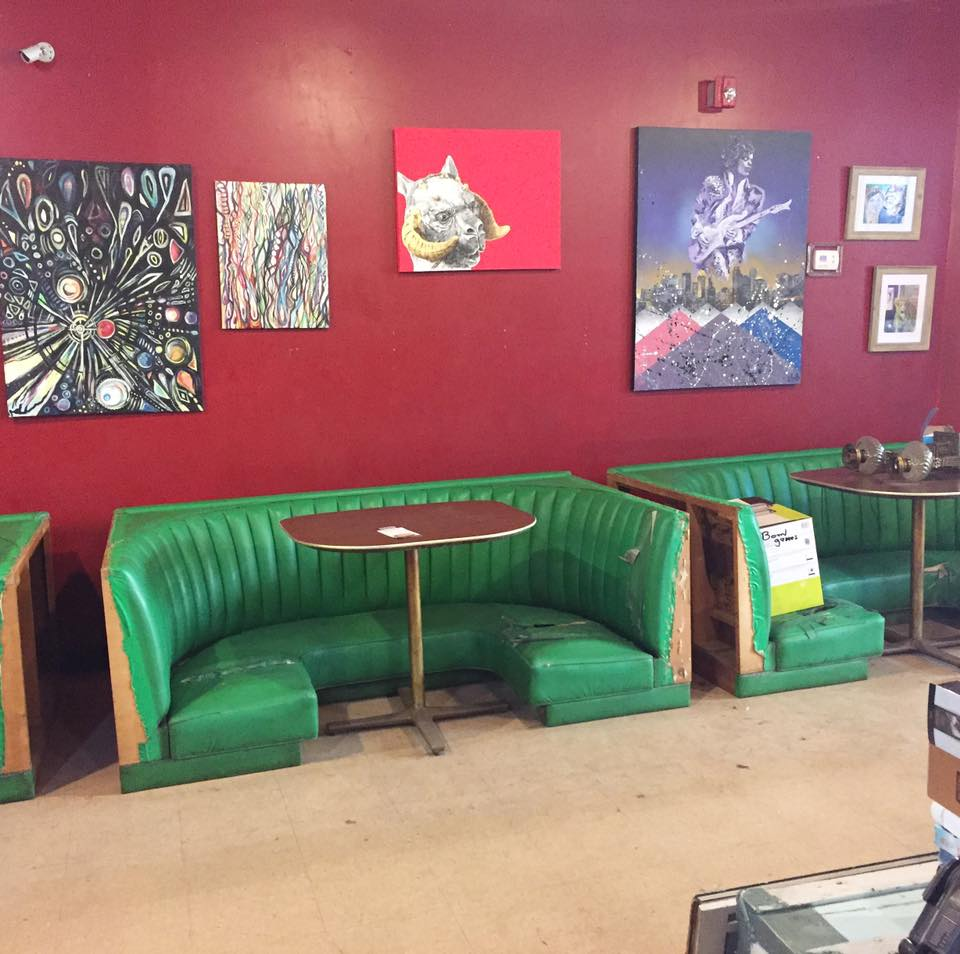 Morgantown Art Party, interior.