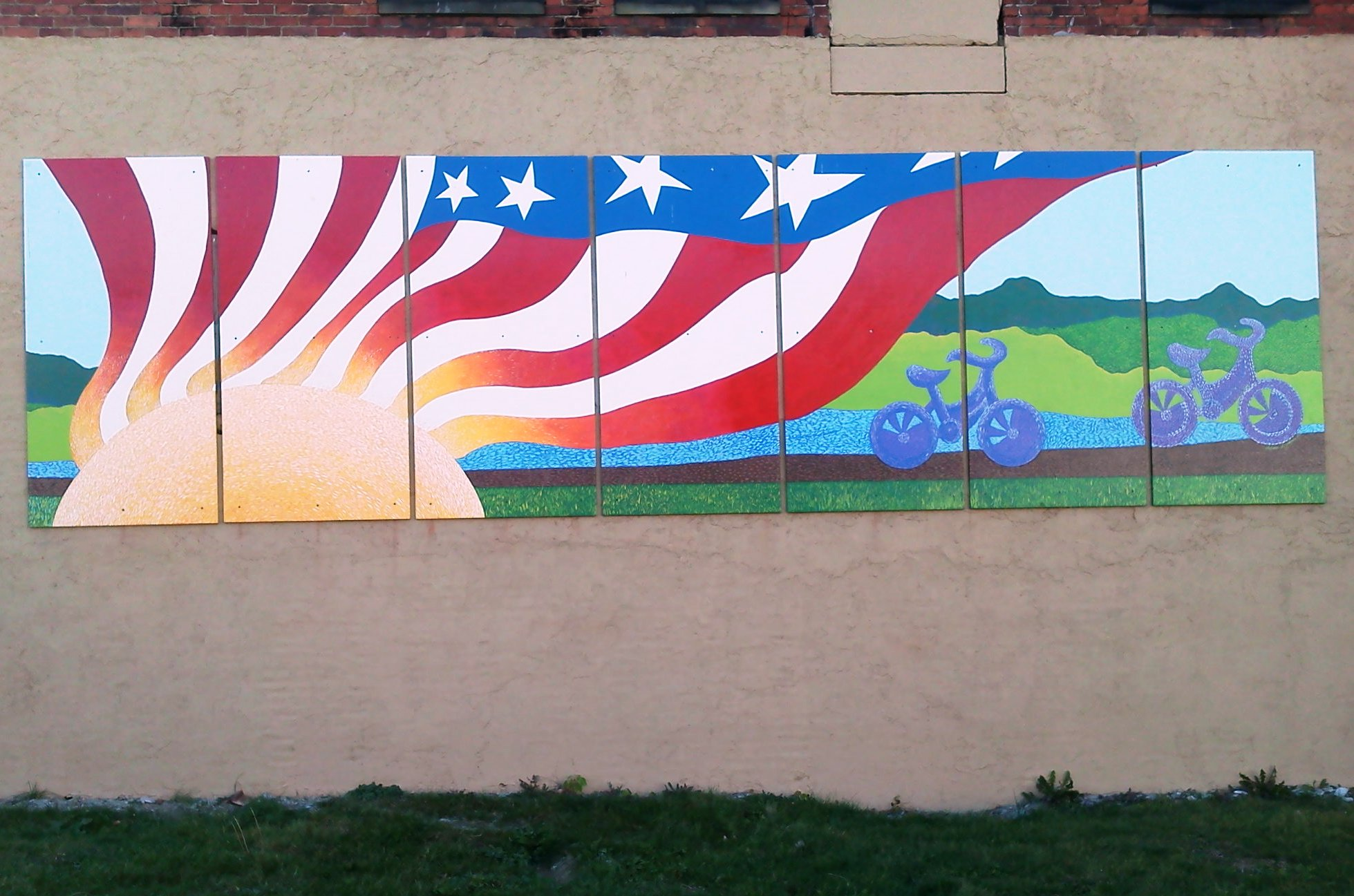 VFW Mural, Point Marion.