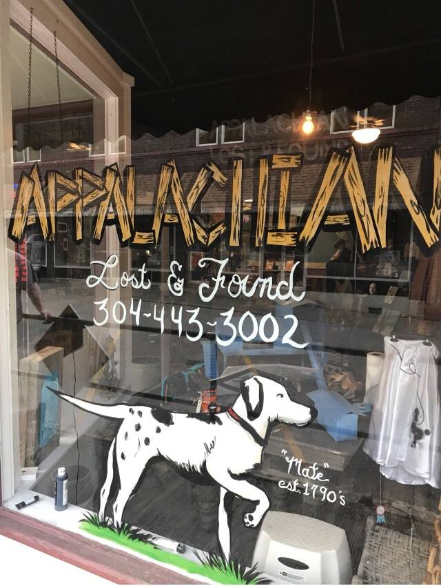 The front entrance to the Appalachian Lost and Found Museum and Artisan Shop.