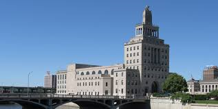 For many years, the building was also home to the city government making Cedar Rapids the only US city with their government located on an island during those years.