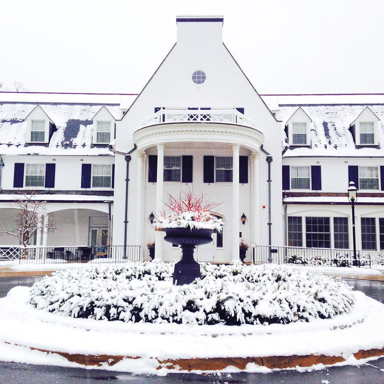 This photo taken by Sara Brennen captures the inn's almost magical beauty.