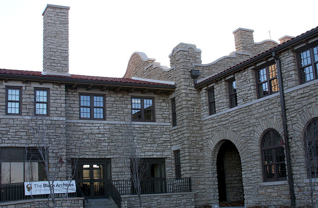 The Black Archives of Mid-America reopened in 2012 in the restored Parade Park Maintenance Building.