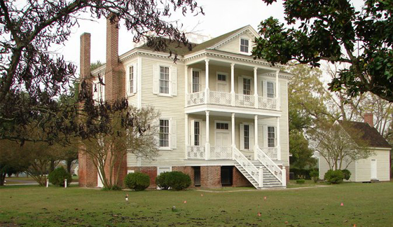 Historic Hope Plantation, located in Windsor, NC.