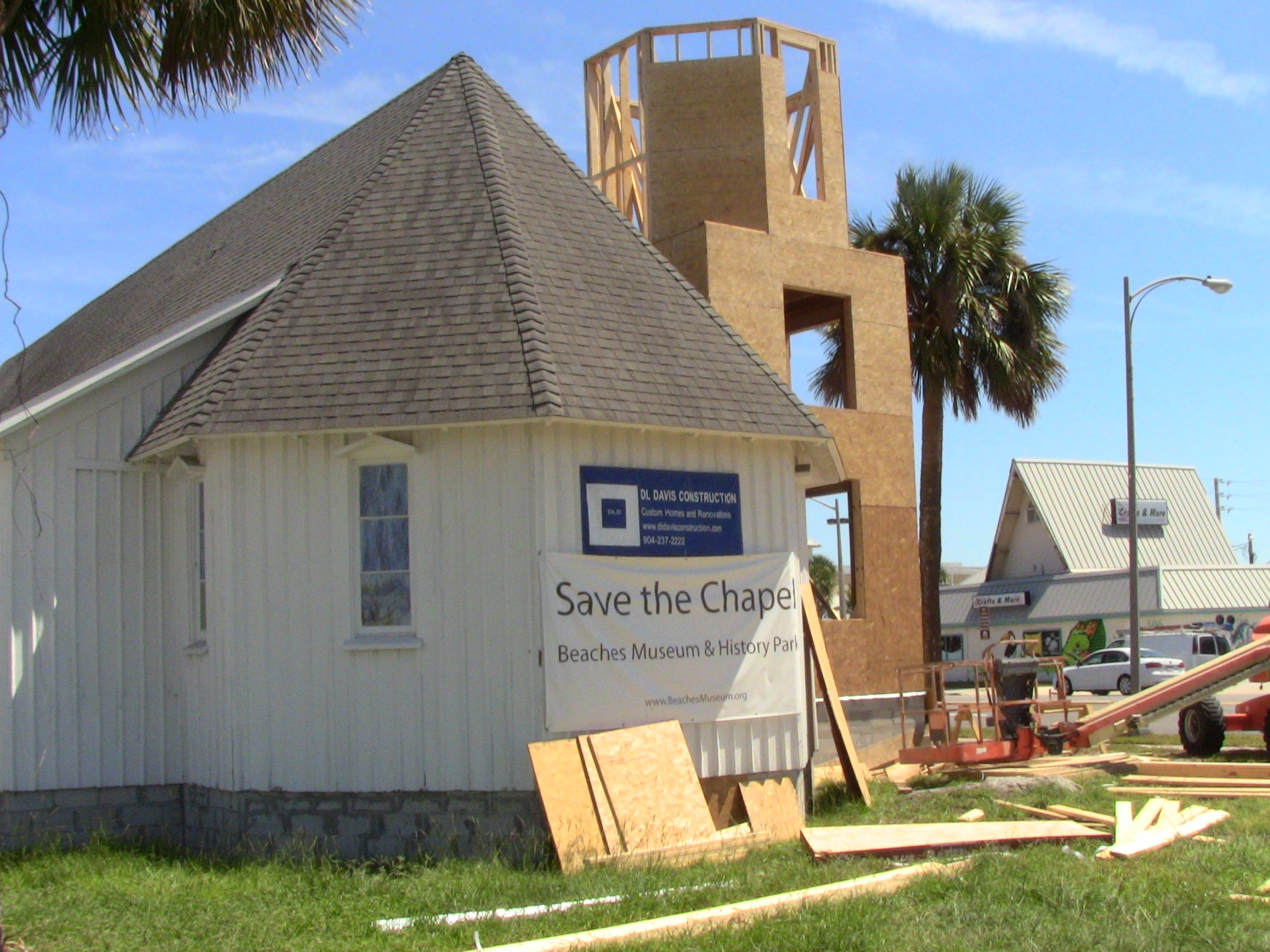2013 Rebuilding of the tower.