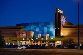 The outside of Century 16 Movie Theater in Aurora, Colorado.