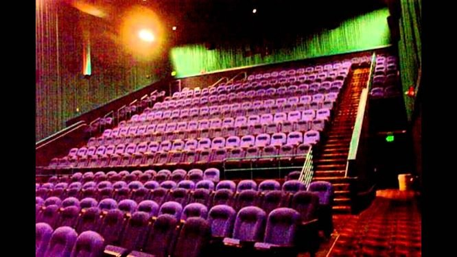 Movie theater 9, the room in which the Aurora shooting occurred.