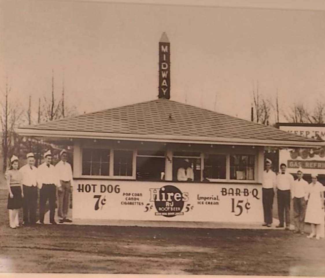 Midway Drive-In, when hot dogs were only 7 cents