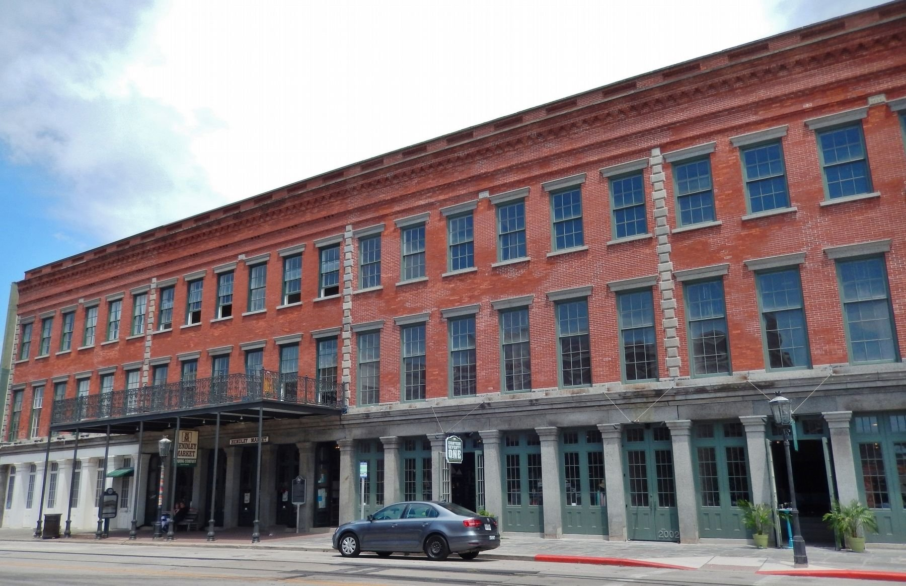 The Hendley Building was restored in 2015 and is now home to retailers.