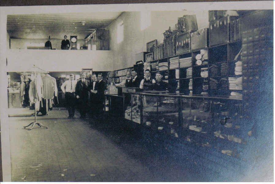 A look inside the Glen Alum Coal Company Store.