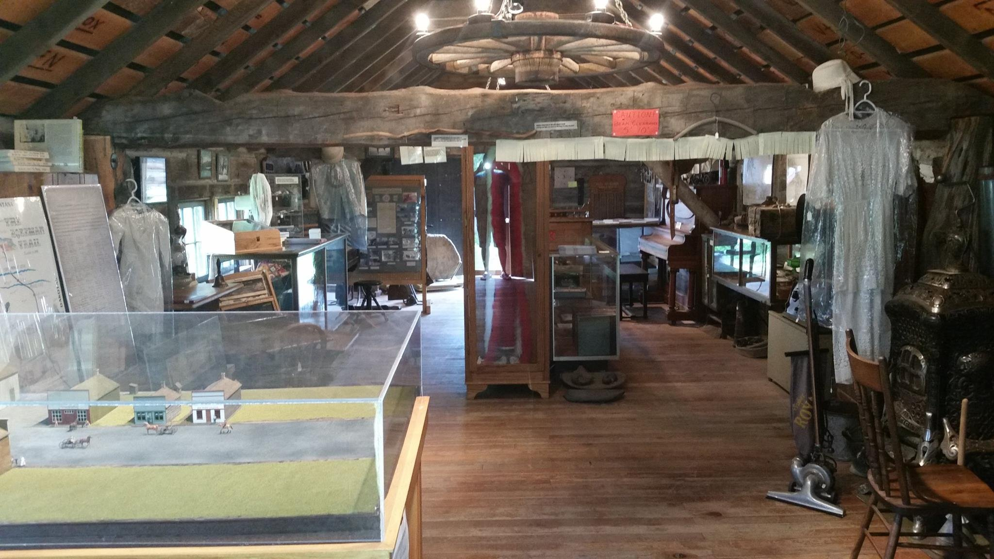 Inside the Bozeman Trail Museum