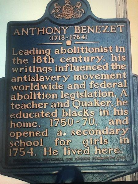 Anthony Benezet (1713-1764)