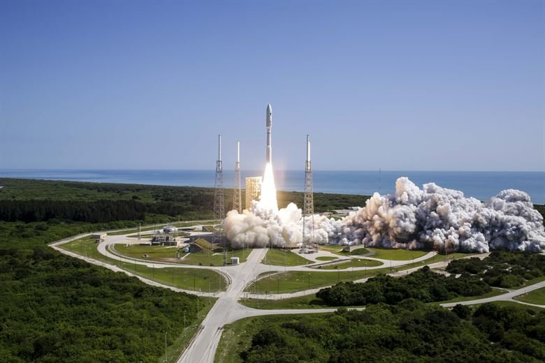 Launch at Cape Canaveral Air Force Station. Courtesy photo by ULA