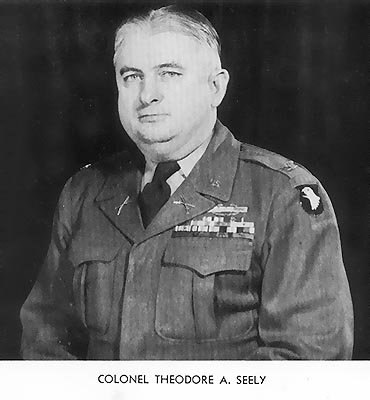 Colonel Theodore A. Seely, 506th Airborne Infantry Regiment Commander