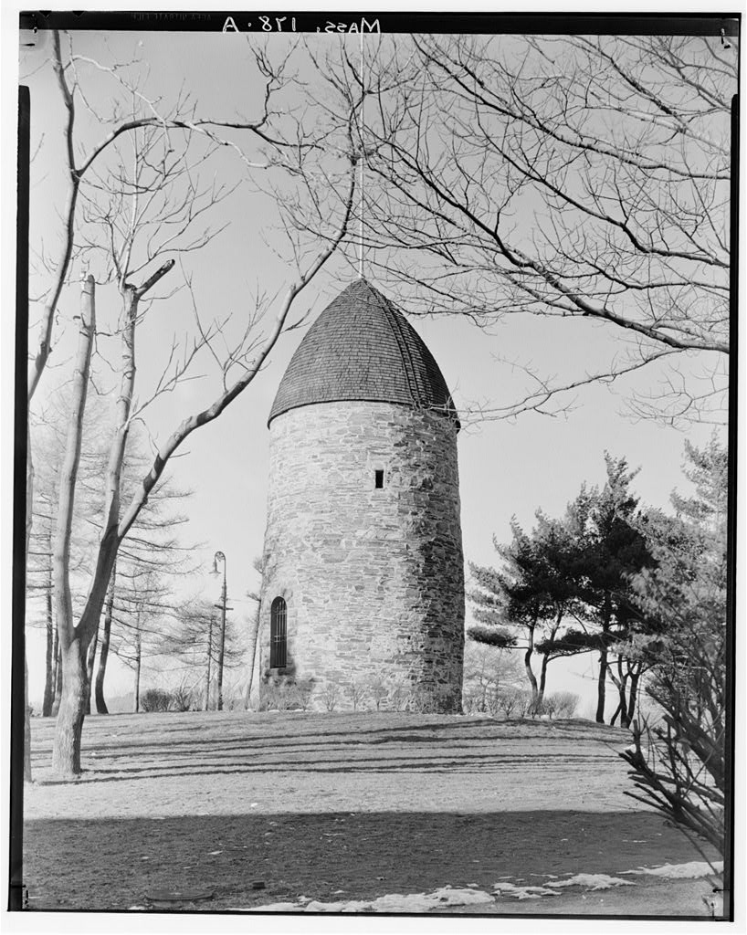 The Old Powder House from the Historic American Buildings Survey, Arthur C. Haskell, Photographer, 1935.