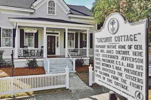 The Chesnut Cottage Bed and Breakfast in Columbia, South Carolina.