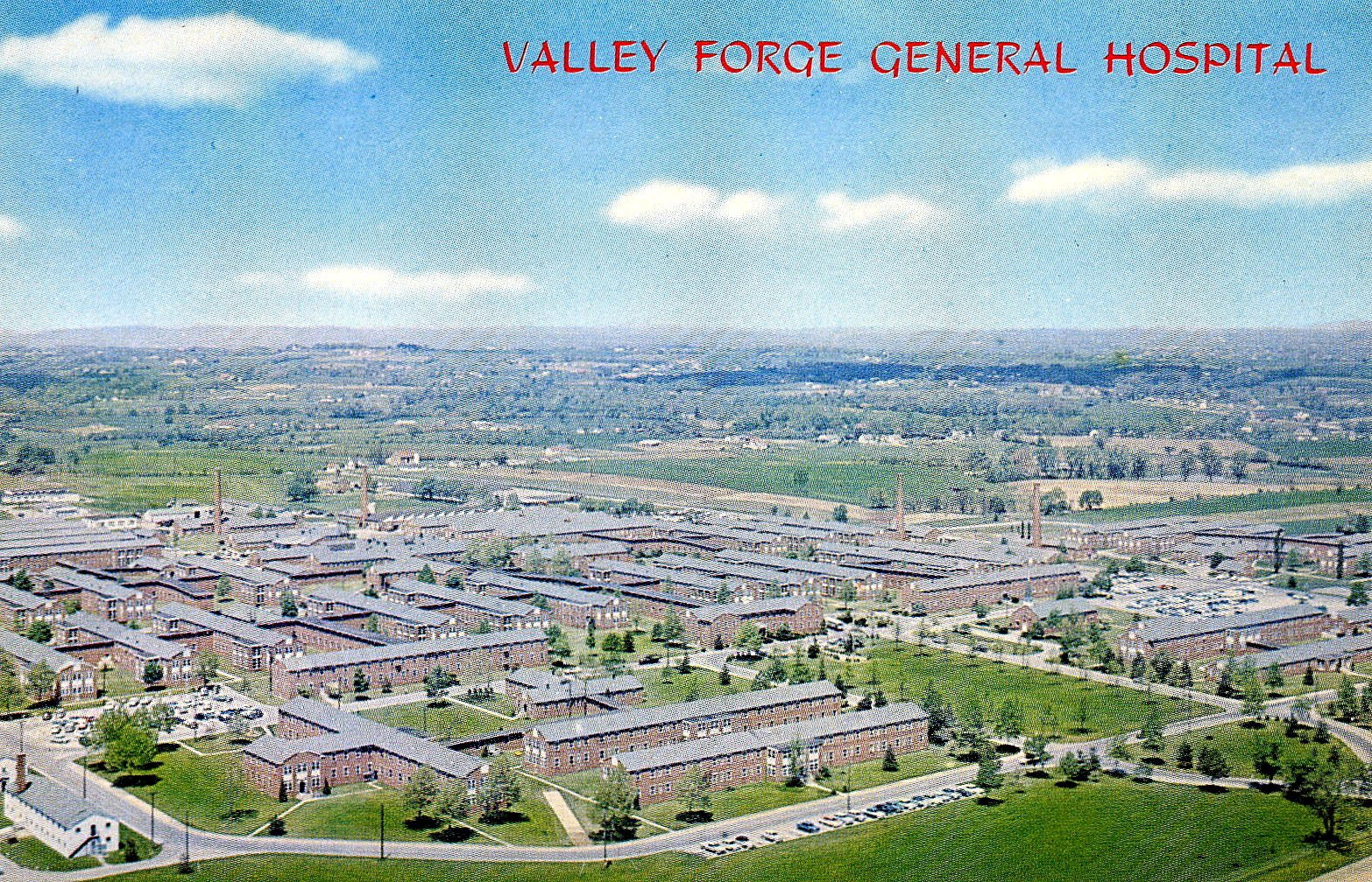Valley Forge General Hospital in the 1960s.