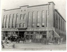 The original Chesson's Department Store in the 1800s.